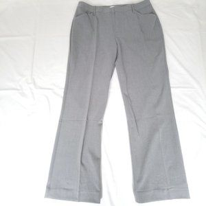 Nwt $55 BASS Gray Silver Classic Pants Sz 8